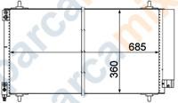 6455EY ORJINAL Klima Radyatörü