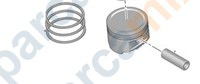 JUMPER Piston, Segman
